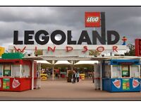 X2 Tickets to Legoland - 15th Sept