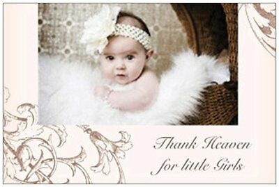 20 Baby GIRL in Fur & BUGGY Shower INVITATIONS Post Cards POSTCARDS](Baby Girl Invitations)