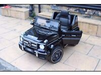 Licensed Mercedes G63 G Wagon ride on car with remote control music and lights (leeds) only £185