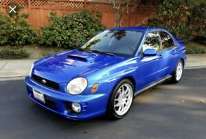 Looking for 2002 Subaru wrx