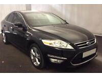 FORD MONDEO BLACK 150 TITANIUM X BUSINESS HATCHBACK DIESEL FROM £41 PER WEEK!