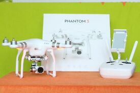 Dji phantom 3 Advanced + Range Booster