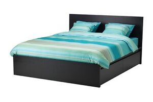 Kingsize Bed + Mattress + Bedside tables + Lamps + FREE Extras Southbank Melbourne City Preview