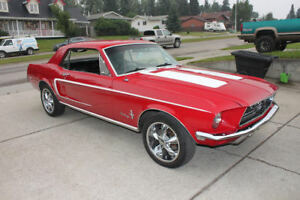 1968 Mustang Coup.