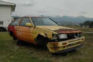 AE86 Parts Cars Wanted!