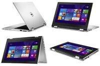 Dell HD Inspiron 11 3000 Series 2in1 device touch display Laptop