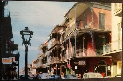 Postcard 1957 New Orleans, Louisiana - Saint Peter Street