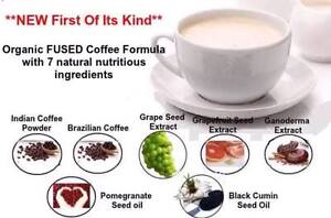 Organic Seed INFUSED COFFEE (with Ganoderma extract)