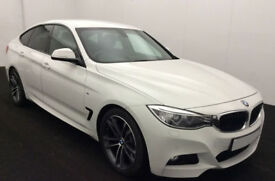 Auto White BMW 320d M Sport GT Black Lether FROM £72 PER WEEK!