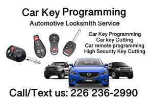 Automotive Locksmith Service - Key cutting & programming