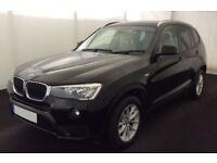 BMW X3 FROM £72 PER WEEK!