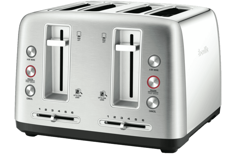 Sunbeam Ta6440 Maestro 4 Slice Toaster With Lcd Countdown