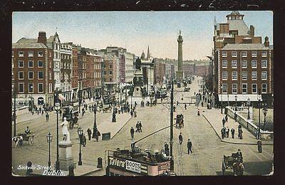 Ireland DUBLIN Sackvill Street PPC pre 1919 Lawrence