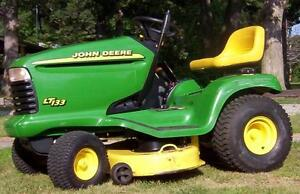 Looking for a hood for a John Deere LT133 lawn tractor