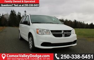 2017 Dodge Grand Caravan CVP/SXT ONE OWNER, KEYLESS ENTRY, BL...