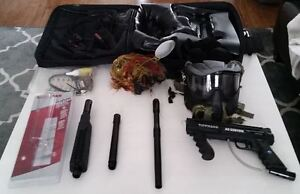 Tippmann Custom 98 Act with E-trigger and Flat line Barrel $195