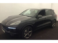 PORSCHE CAYENNE 3.0 V6 D 260 PLATINUM EDITION GTS TURBO FROM £245 PER WEEK!
