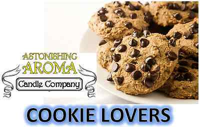 COOKIE LOVERS COLLECTION Soy Wax Clamshell Break Away tart melt wickless candle Cookie Soy Candle
