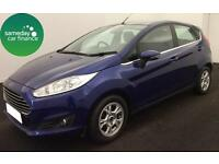£138.01 PER MONTH BLUE 2013 FORD FIESTA 1.6 ZETEC ECONETIC 5 DOOR DIESEL MANUAL