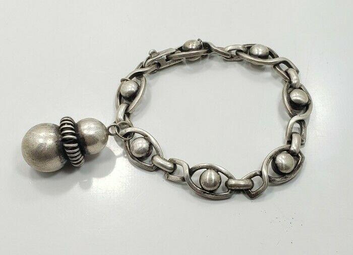 Beautiful Vintage Sterling Silver 925 Reverie Unique Ladies Mexico Bracelet