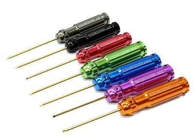 7 Piece Hex Wrench - Team Integy Titanium-Nitride 7-Piece Hex Allen Wrench Set