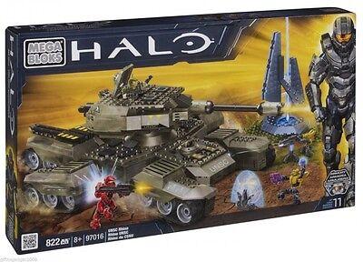 Mega Bloks – Halo Wars – UNSC Rhino 822 Piece Set 97016