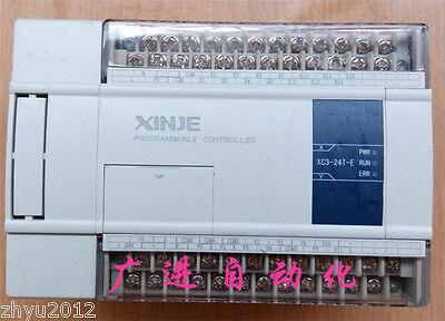 1pcs Used Xinje Plc Xc3-24t-e