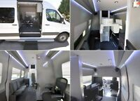 WE CUSTOM BUILD MOBILE EXECUTIVE LUXURY OFFICES IN SPRINTER VAN