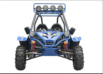 Off Road 150cc 2 Seater Adult Go-Kart 4 Stroke Electric Start GK150-9A COMMANDER