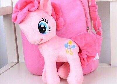 My Little Pony Pinkie Pie Plüsch Kinderrucksack für Kindergarten oder Picknick