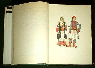 1925 BOOK East European Folk Costume TILKE Albanian Macedonian Russian Romanian