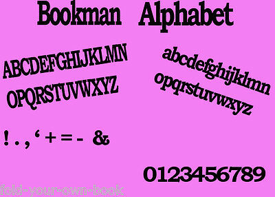 Folded book art folding PATTERN Full Alphabet **INTRODUCTORY OFFER**