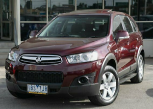 2012 Holden Captiva CG Series II 7 SX Sports Automatic Dandenong South Greater Dandenong Preview