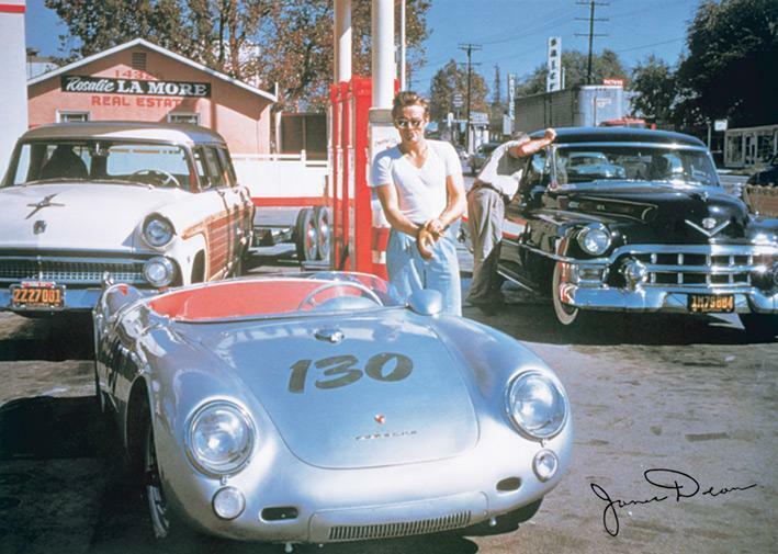 James Dean Porsche >> James Dean Porsche 550 Spyder Poster 36 X 24 In Ebay