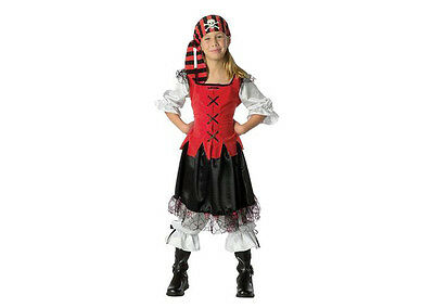 Pirate Girl Halloween Costume Child Pirates Of The Carribean Size Large 12-14](Carribean Costumes)
