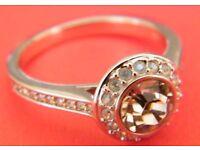 Swarovski Angelic Vintage Rose Ring