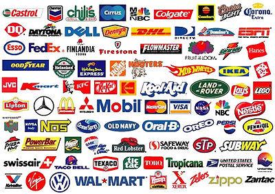 50 000 Corporate Logos Vector Clip Art Screen Printing Graphic Design