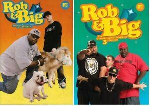 ROB AND BIG Complete TV Series Seasons 1-3 DVD Set BRAND NEW Free Ship