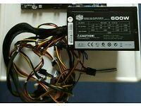 CoolerMaster 600W Big Silent internal fan .