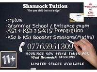 11 +/ SATS BOOSTER SESSION / KS2 & KS3 SUPPORT WEST BROMWICH
