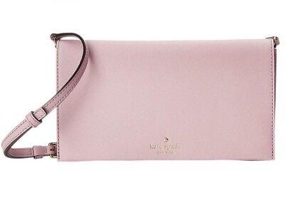 Kate Spade Cedar Street Cali Clutch Saffiano Leather Pwru4341 Jade Crossbody Bag