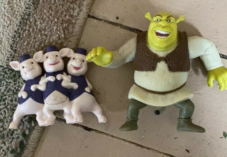 Shrek Figurine Lot