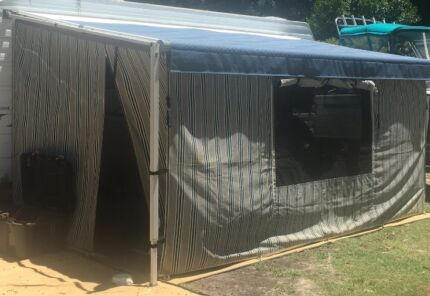 """Caravan Roll out Awning 16""""  dometic as new , plus annex Casino Richmond Valley Preview"""