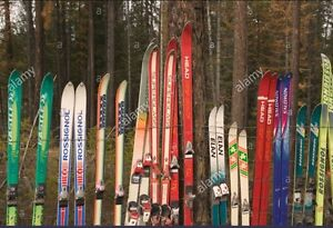 Looking for used skis