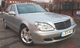 Mercedes-Benz S Class 3.2 S320 CDI 2005 SAT NAV FULL LEATHER Diesel