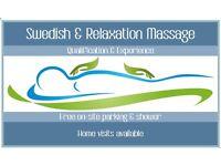 Relaxation and Swedish Massage
