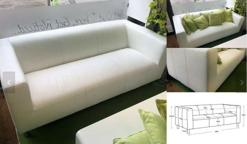 Enjoyable White Sofa Argos 3 Seater Faux Leather Sofa Quick Sale In Bournemouth Dorset Gumtree Onthecornerstone Fun Painted Chair Ideas Images Onthecornerstoneorg