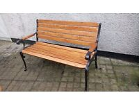 Beautiful renovated garden bench