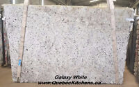 Galaxy White Granite: Highly Water Resistant Brazilian at QK
