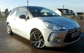 2015 15 Citroen DS3 1.6BlueHDi Blue DSire 5 DOOR DIESEL MANUAL